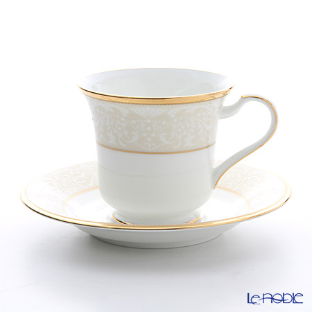 ノリタケ ホワイトパレスアメリカン碗皿 T59589/4753