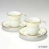 ノリタケ ホワイトパレスアメリカン碗皿 ペア P59589/4753