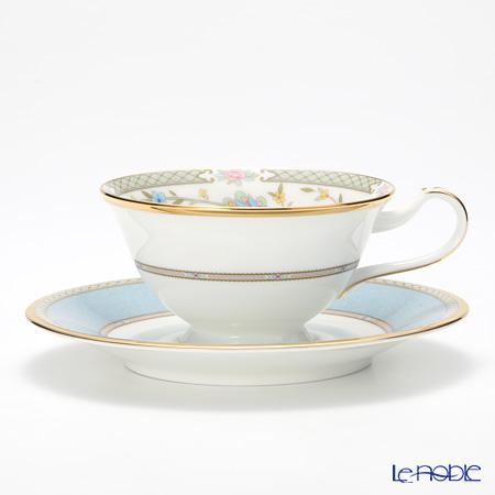 ノリタケ ヨシノ Y59587/9983-6ティー・コーヒー兼用 碗皿 グレー