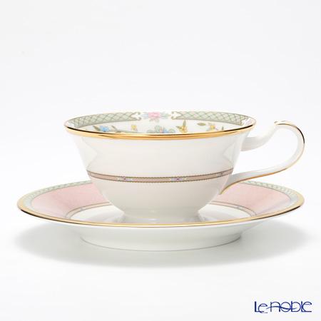 ノリタケ ヨシノ Y59587/9983-7ティー・コーヒー兼用 碗皿 ピンク