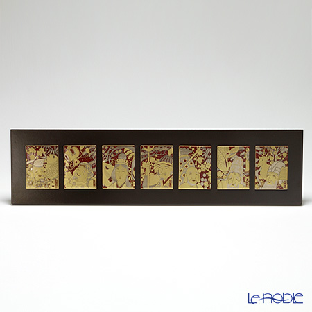 ノリタケ スタジオコレクション縁起物 七枚組陶額 七福神 SK092/A086