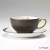 大倉陶園 碗皿ごよみ12ヶ月 香梅(如月)碗皿(カップ&ソーサー) 89C/E031