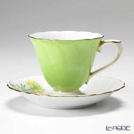大倉陶園 碗皿ごよみ12ヶ月 菜の花(弥生) カップ&ソーサー 46C/E032