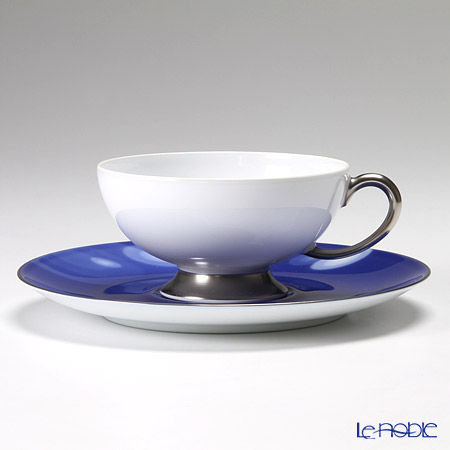 大倉陶園 碗皿ごよみ12ヶ月 雨(水無月) カップ&ソーサー 03C/E035