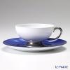 Okura Art China Okura Monthly Cup and Saucer for June – Rain – Cup and Saucer 03C/E035