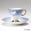 大倉陶園 碗皿ごよみ12ヶ月 月見(長月)碗皿(カップ&ソーサー) 71C/E038