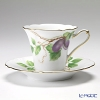 Okura Art China Okura Monthly Cup and Saucer for October – Chocolate vine – Cup and Saucer 80C/E039