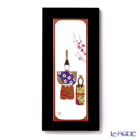 Noritake Studio Collection Porcelain Panel, Hina Dolls 55915/AC172