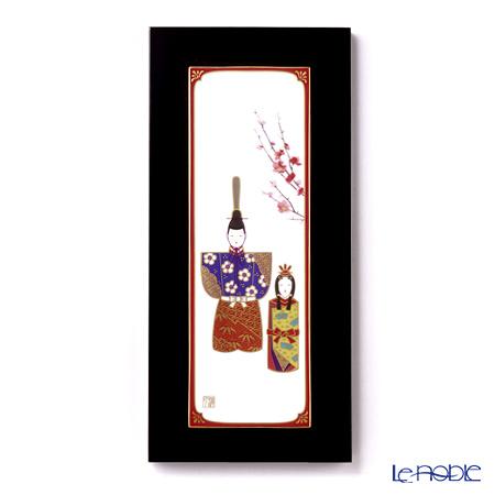 ノリタケ スタジオコレクション陶額 五節句 雛祭 55915/AC172 36.7×17cm