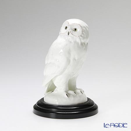 ノリタケ スタジオコレクション 置物 フクロウとまり木 H17cm(台付) K115/AC181