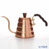 Hario V60 drip cattle vono copper < copper > Non-VKBN-90CP 700ml cover with handle for an open fire * IH *