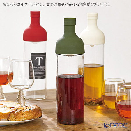 Hario 'Filter-in' Mocha Brown FIC-70-MC [Hot Water & Dish Washer OK] Coffee Bottle 650ml (for 5 Cups)