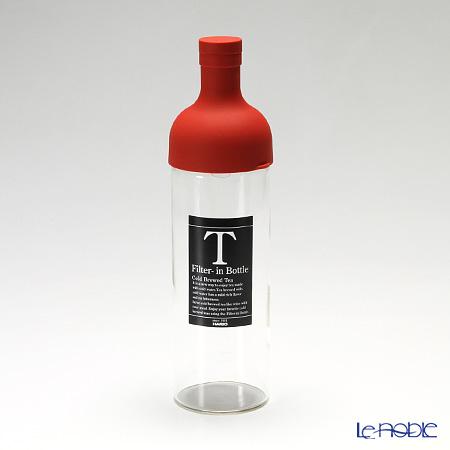 ハリオ フィルターインボトルFIB-75-R レッド 750ml