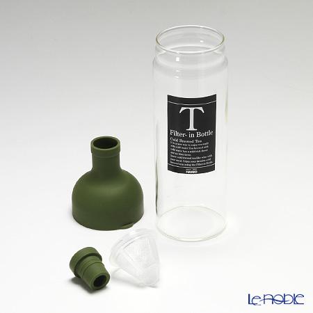 Hario 'Filter-in' Olive Green FIB-75-OG [Hot Water & Dish Washer OK] Bottle 750ml