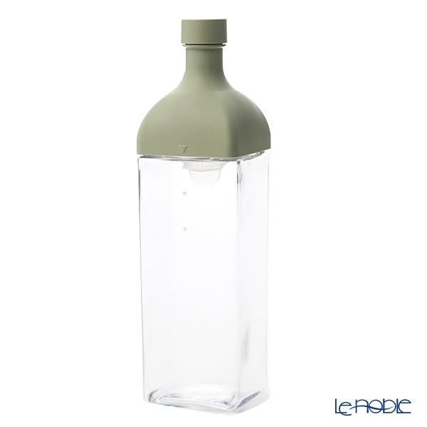 ハリオ カークボトル 1200ml スモーキーグリーン KAB-120-SG フィルターインボトル