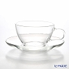 Hario iron tea cups & saucers TCSN-1T