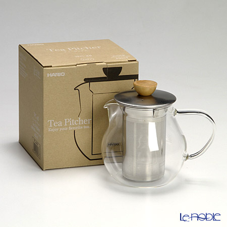 Hario Hot Brew Strainer Tea Pitcher TPC-45HSV 450ml 15oz