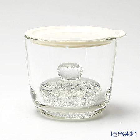 ハリオ ガラスの一夜漬け器 S GTK-S-OW ホワイト 500ml