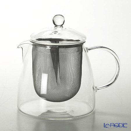 Hario 'Pure' CHEN-70T [Hot Water OK] Leaf Tea Pot 700ml (with Strainer for 4 Cups)
