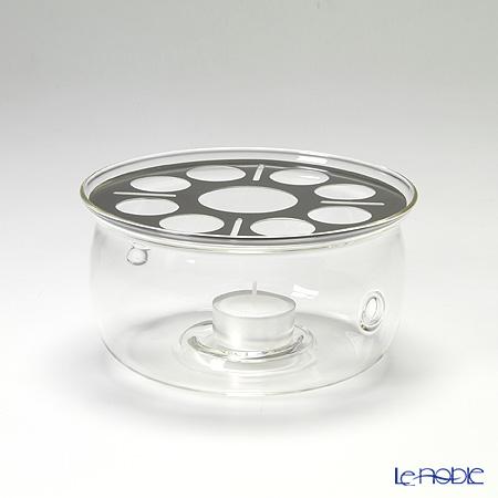 ハリオ 耐熱ガラス製ティーウォーマーM TW-M キャンドル1個付