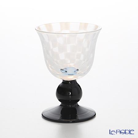 Taisho romantic glass TR-12-1B Shuhaidai city pine black 110 ml low