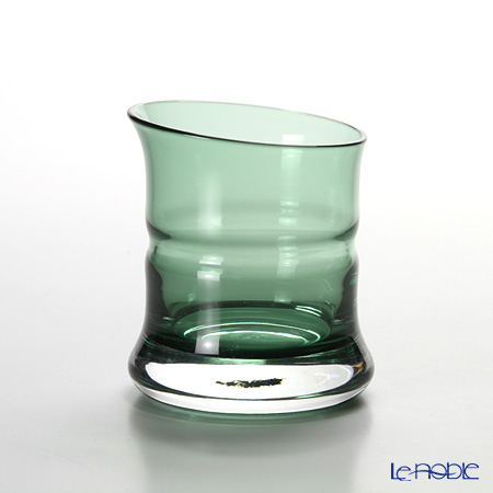 Hirota Glass 'Ao Take - Bamboo' Green 83-GR Sake Cup 80ml (L)
