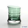 Hirota glass BAMBOO 83-GR Green bamboo sake 80cc big