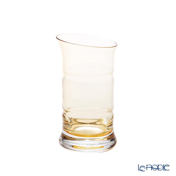 Hirota Glass 'Kin Chiku - Bamboo' Amber Yellow 84-AMB Beer Glass 145ml