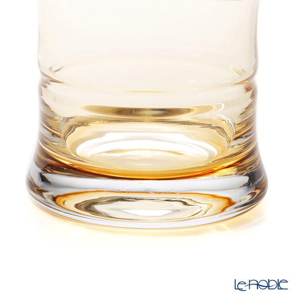 Hirota Glass 'Kin Chiku - Bamboo' Amber Yellow 85-AMB Glass Tumbler 230ml