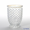 Hirota Glass 'Yuki Arare (Snow)' Opal White AR-1W Tumbler 300ml (L)