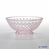 Hirota Glass 'Hana Arare (Flower)' Pink AR-4PK Small Bowl 13cm