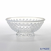 Hirota Glass 'Yuki Arare (Snow)' Opal White AR-4W Small Bowl 13cm