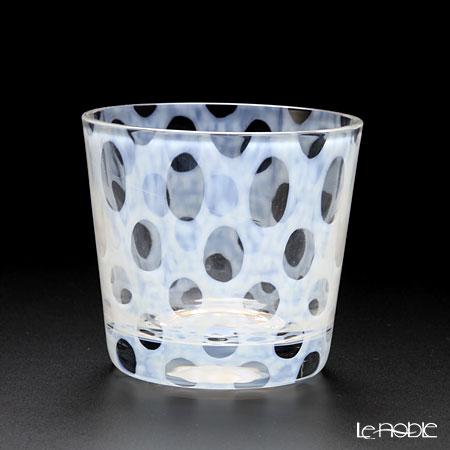 廣田硝子 大正浪漫硝子 TR-33-2 そばちょこ(ロックグラス) 水玉 144ml