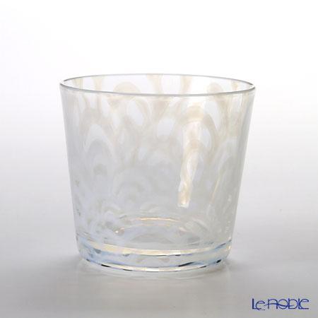 廣田硝子 大正浪漫硝子 TR-33-5そばちょこ(ロックグラス) 波 144ml