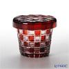 Hirota Glass Futa-Choco Rock Glass, Checked FC-2
