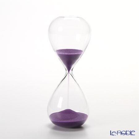 廣田硝子 スナ式トケイ ST-5 砂時計(5分計・紫)