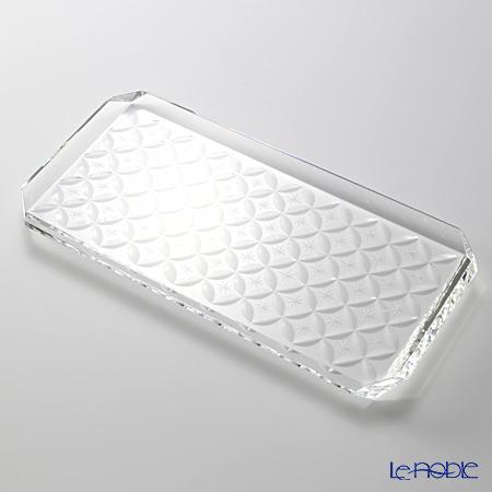 Hirota glass Kiriko OMO-1 Plate 24cm