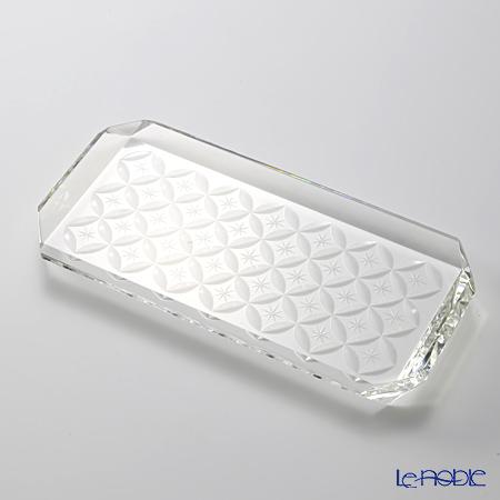Hirota glass Kiriko OMO-2 Plate small 18cm