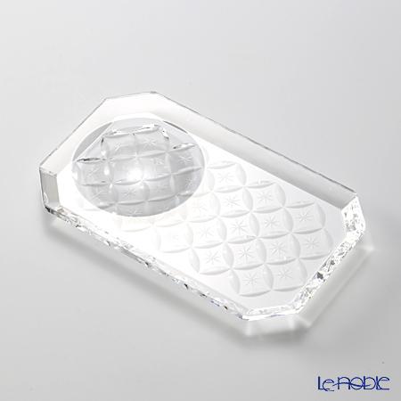 廣田硝子 さゆる OMO-3 醤油・薬味皿 13.5cm