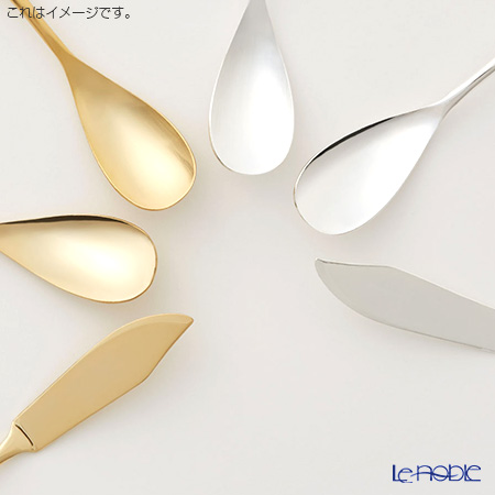 COPPER the cutlery カパーザカトラリー アイスクリームスプーン2本セット シルバー ミラー CI-2SVmi