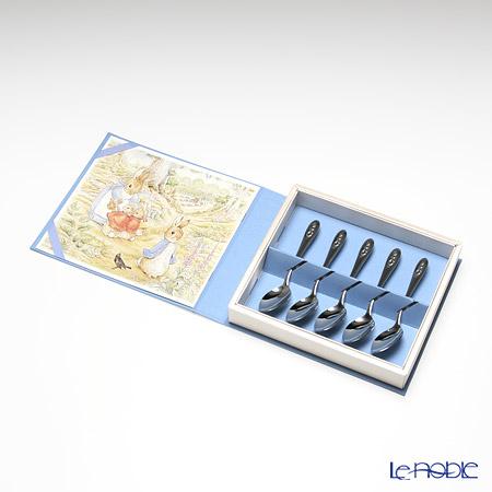 ピーターラビット POI-B1絵本・フォトアルバム式 ティースプーン 5本セット