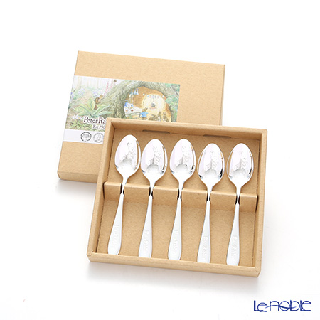 Peter Rabbit 'PR-0250 / Laser' Silver Tea Spoon 13cm (set of 5)