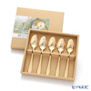 Peter Rabbit PR-0154 plate in the laser Set of 5 teaspoons (gold finish)