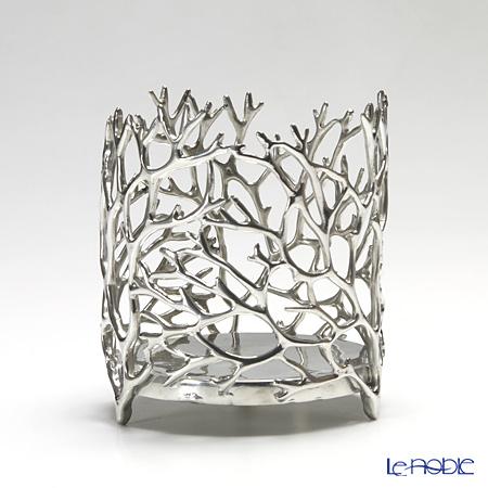Loyfar 'Coral' [Pewter] Candle / Wine Holder 9.5xH10.5cm