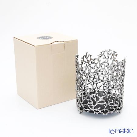 Loyfar 'Coral' [Pewter] Candle / Wine Holder 9.5xH11.5cm