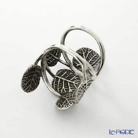 Loyfar 'Gecko Leaf' [Pewter] Napkin Ring