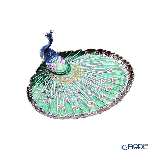 Loyfar 'Peacock' Green [Pewter] Tray