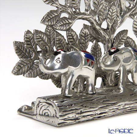 Loyfar (Pewter) 'Elephant Family' Card Holder