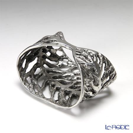 Loyfar (Pewter) 'Dry Leaf' Napkin Ring