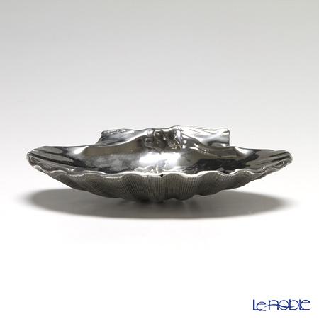 Loyfar 'Shell' [Pewter] Tray 14x12cm
